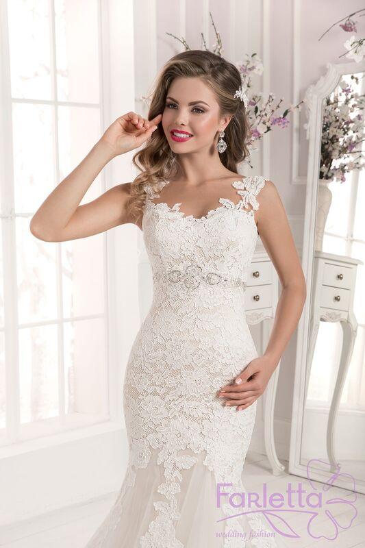 Свадебное платье напрокат Farletta Платье свадебное Orhid - фото 3