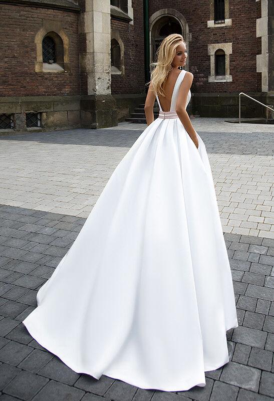 Свадебное платье напрокат Cosmobella Свадебное платье 1607 - фото 3