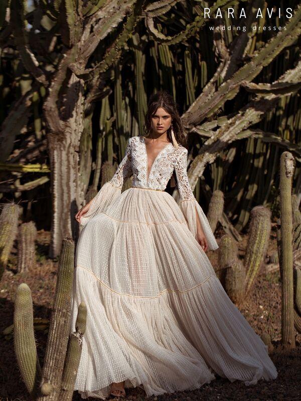 Свадебный салон Rara Avis Платье свадебное Wild Soul Hori - фото 2