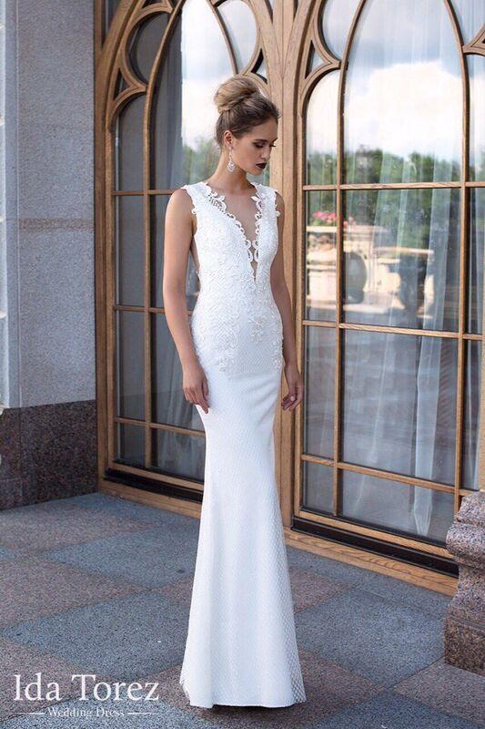 Свадебное платье напрокат Ida Torez Свадебное платье Judith - фото 1