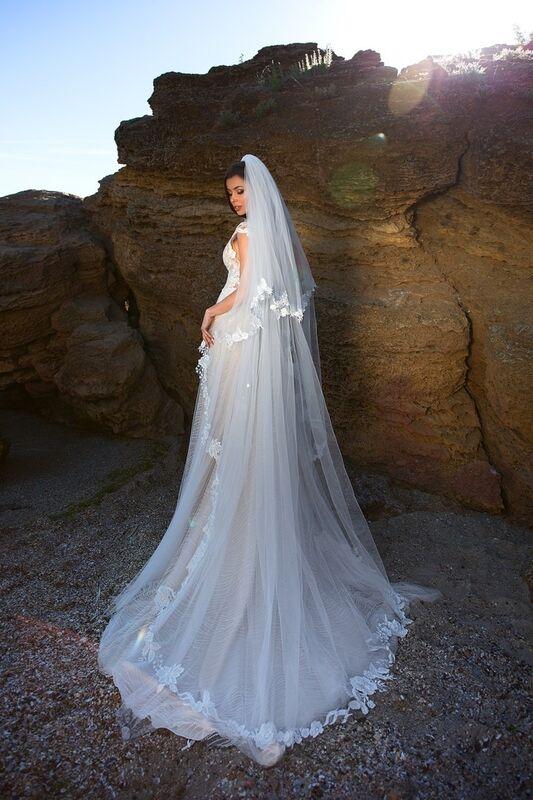 Свадебное платье напрокат Ida Torez Murex Pecten - фото 3