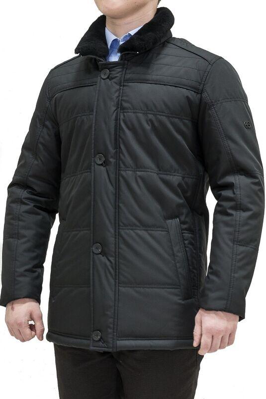 Верхняя одежда мужская AKCENT Куртка мужская с воротником - фото 1