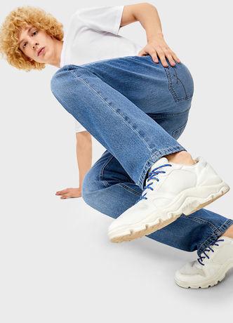 Брюки мужские O'stin Базовые мужские прямые джинсы MPD101-D5 - фото 4
