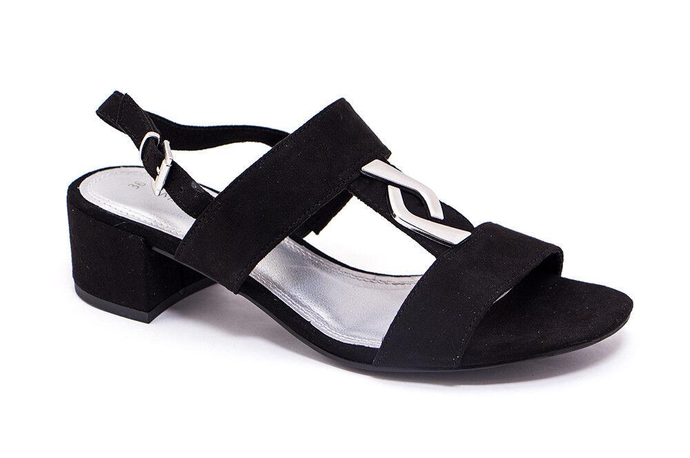 Обувь женская Marco Tozzi Босоножки женские 2-28200-28-001 - фото 1