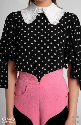 Костюм женский Pintel™ Комплект из блузы и брюк Batoöly - фото 4
