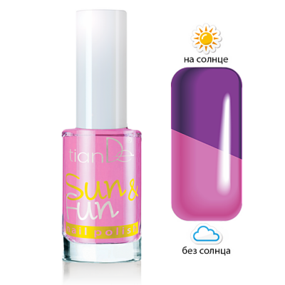 Декоративная косметика tianDe Лак для ногтей Sun & Fun - фото 3