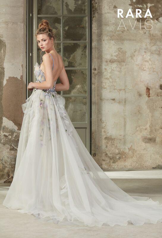 Свадебное платье напрокат Rara Avis Платье свадебное Floral Paradise  Selbi - фото 2