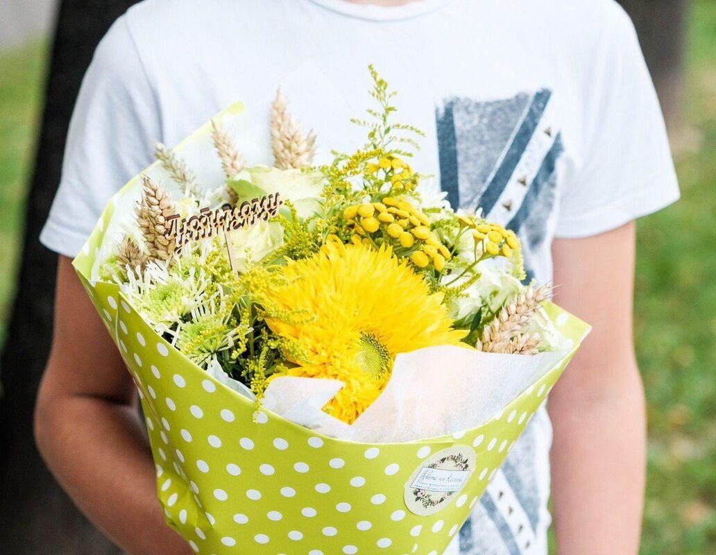 Магазин цветов Цветы на Киселева Букет «Солнечный зайчик» - фото 1