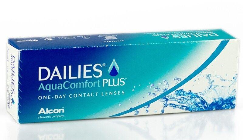 Линзы Alcon Контактные линзы Dailies Aqua Comfort Plus - фото 1