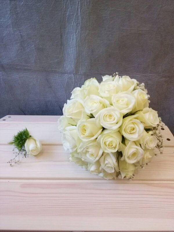 Магазин цветов VGosti.by Свадебный букет «Первая любовь» - фото 6
