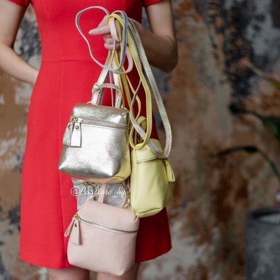 e71092ed516d Купить Кожаный женский рюкзак C00483 Vezze в Минске – цены продавцов