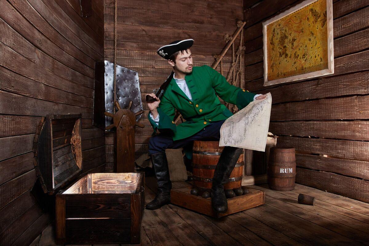 Квест Quest Zone Квест «Сокровища Пирата Генри Моргана» на 4 чел. - фото 1
