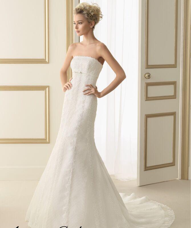 Свадебное платье напрокат Rosa Clara Платье свадебное Evita - фото 1