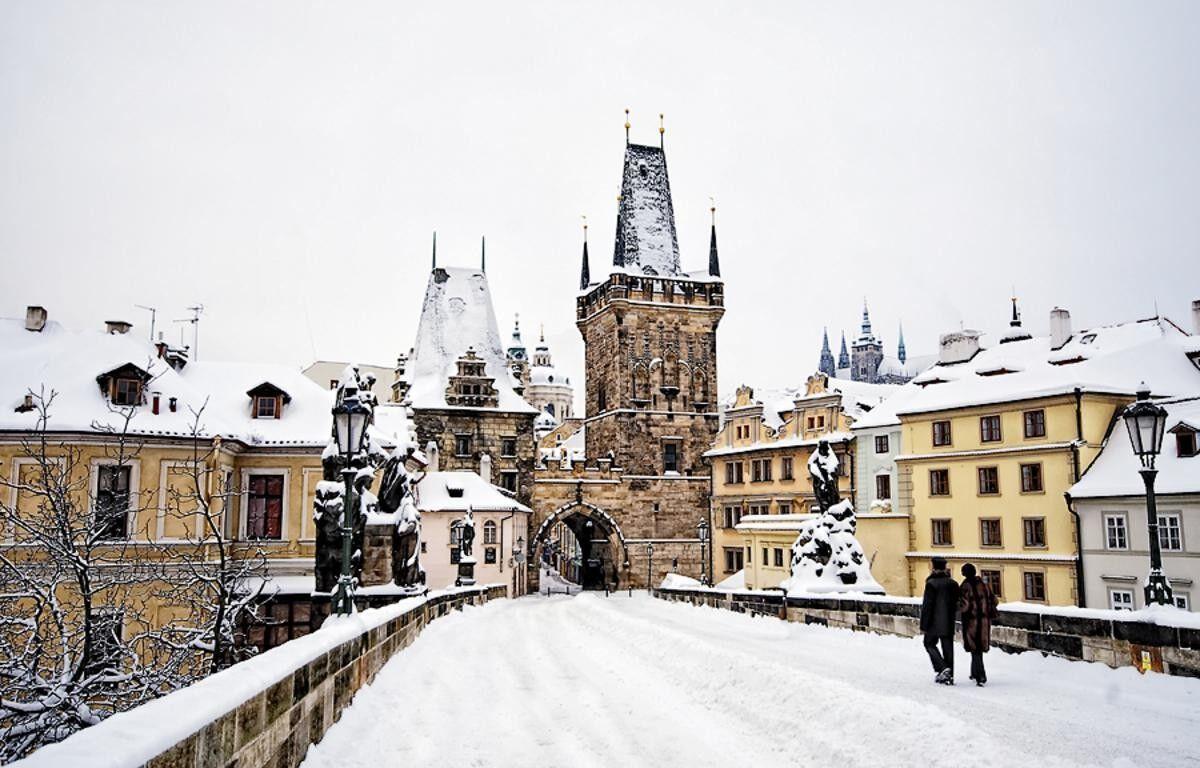 Фото в чехии зимой