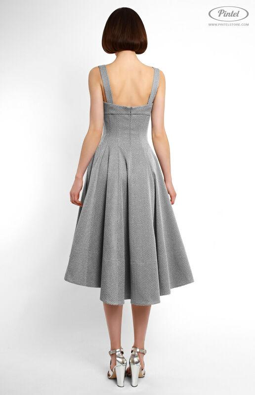 Платье женское Pintel™ Приталенное платье-сарафан Jeetelle - фото 2