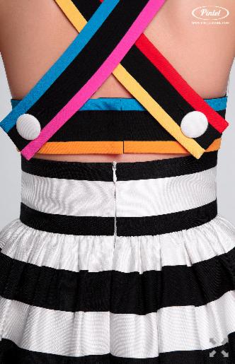 Платье женское Pintel™ Комплект из топа-бюстье и юбки Claire - фото 6