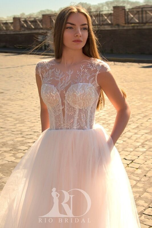 Свадебное платье напрокат Rafineza Свадебное платье Milena напрокат - фото 1