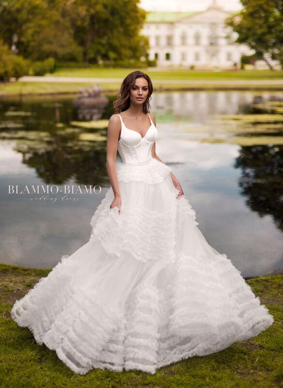 Свадебный салон Blammo-Biamo Свадебное платье The Rice Sabrina - фото 1