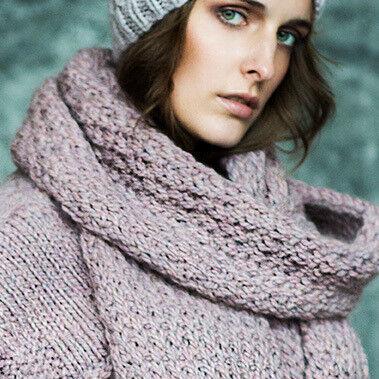 Подарок на Новый год PENELOPA Вязаный шарф М15 - фото 1