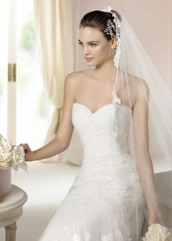 Свадебное платье напрокат White One (Pronovias) Платье свадебное «Jackie» - фото 3