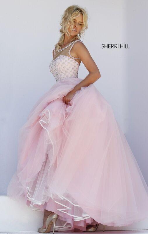 Свадебное платье напрокат Sherri Hill Платье свадебное 50008 - фото 5