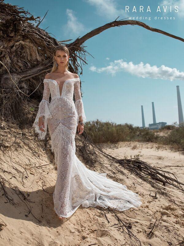 Свадебное платье напрокат Rara Avis Свадебное платье Wild Soul Luchian - фото 2