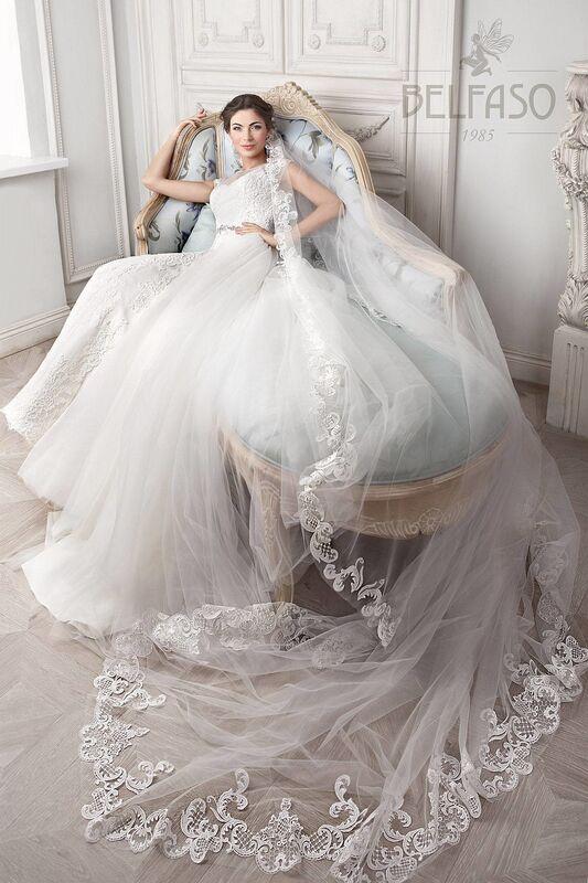 Свадебное платье напрокат Belfaso Платье свадебное Doroti - фото 3