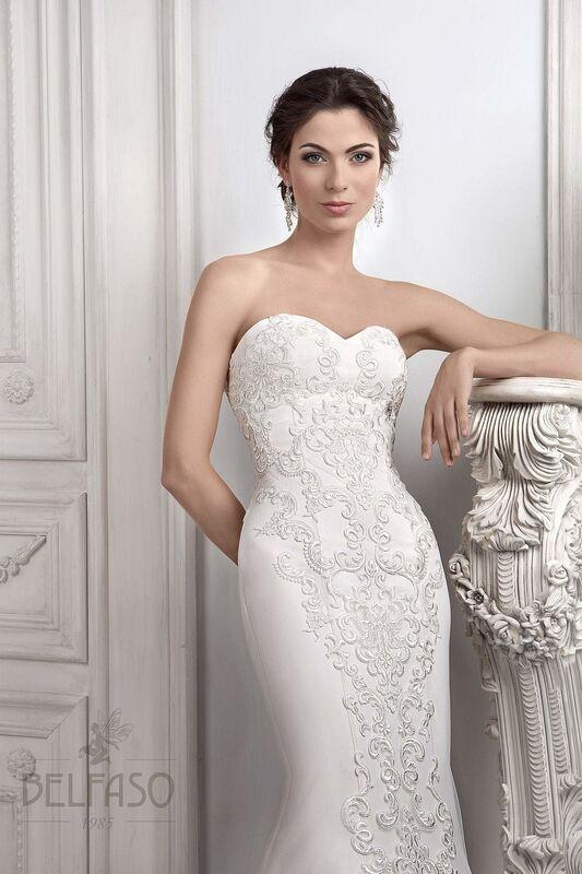 Свадебное платье напрокат Belfaso Платье свадебное Djovanna - фото 3