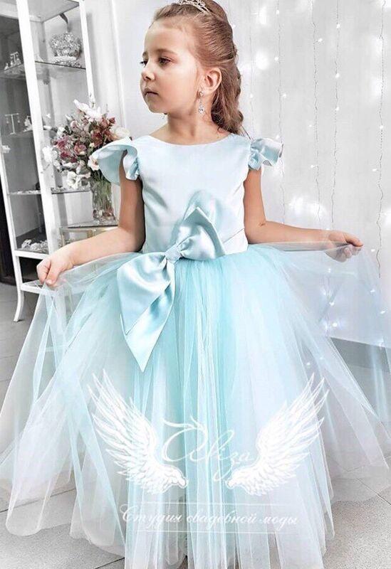 """Платье детское ALIZA детское платье """"Barbi"""" - фото 1"""