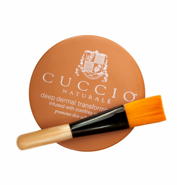 Уход за телом Cuccio Naturale Маска для кожи рук, ног и тела с кистью, 240 г - фото 1