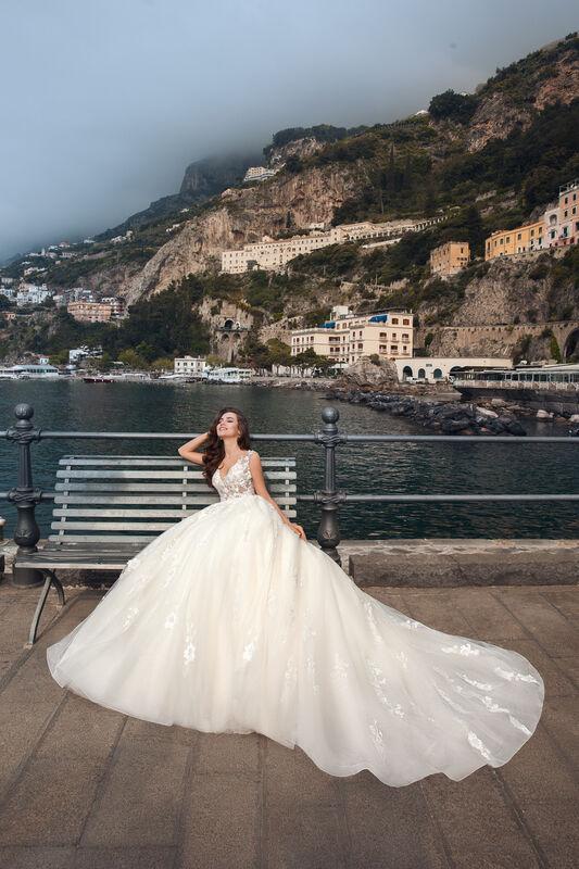 Свадебный салон Bonjour Galerie Свадебное платье ALTA из коллекции NEW COLLECTION - фото 4