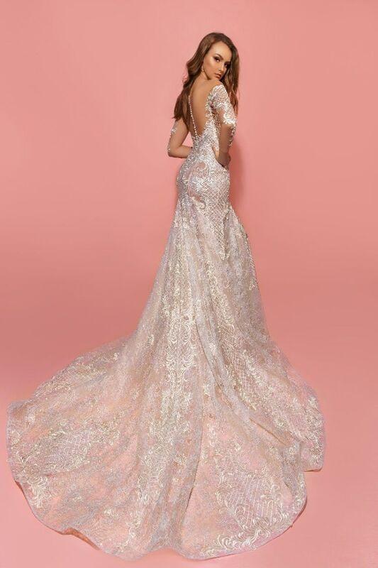 Свадебное платье напрокат Eva Lendel Платье свадебное Kim - фото 3