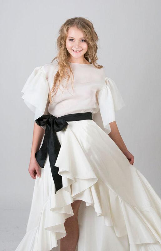 Вечернее платье Aleksandra Kozlovskaya Вечернее платье 499 - фото 3