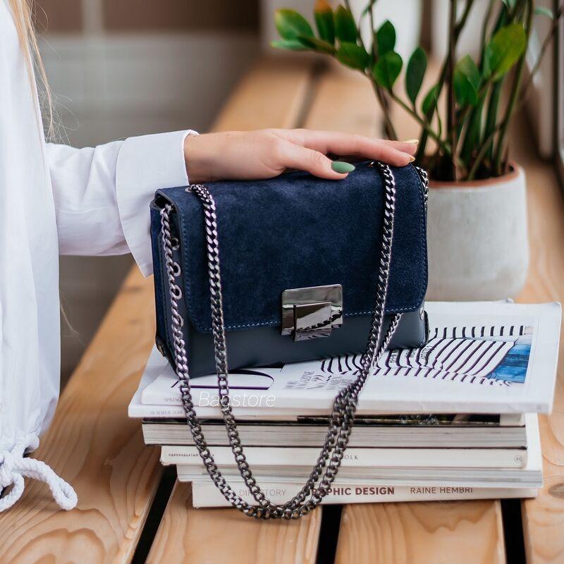 Магазин сумок Vezze Кожаная женская сумка C00540 - фото 1