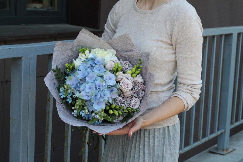 Магазин цветов Cvetok.by Букет «Морской бриз» - фото 1