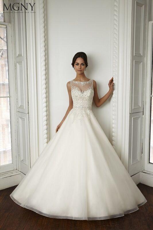 Свадебный салон Madeline Gardner New York Свадебное платье Coco 51022 - фото 1