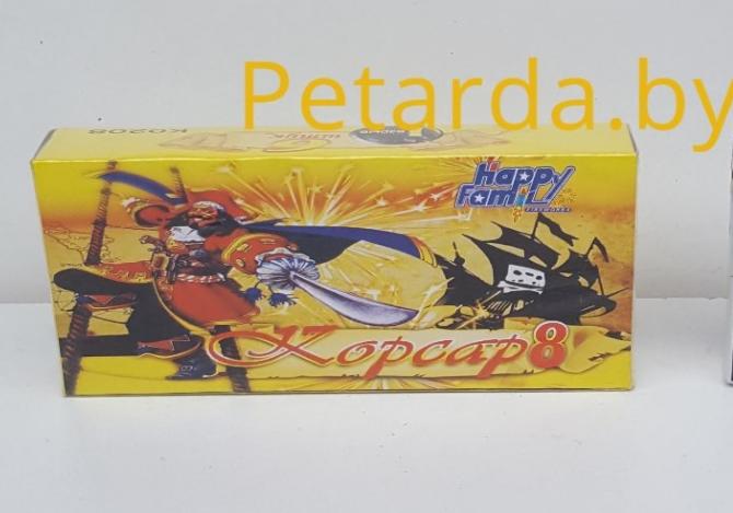 Фейерверк Petarda.by Петарды Корсар 8 - фото 1