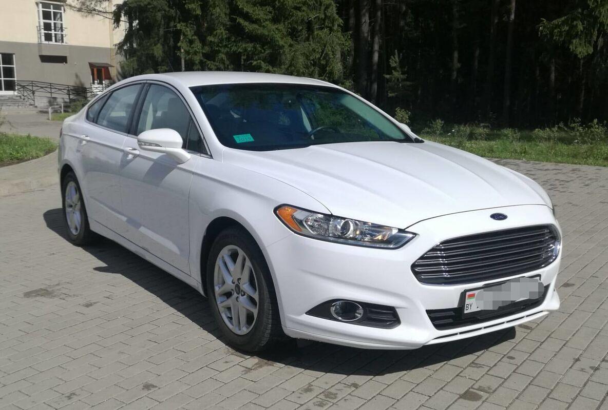 Прокат авто Ford Mondeo (Fusion) AT - фото 2