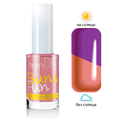 Декоративная косметика tianDe Лак для ногтей Sun & Fun - фото 1
