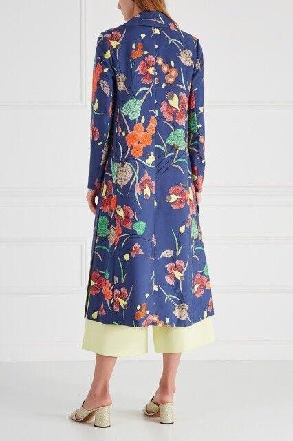 Верхняя одежда женская Diane von Furstenberg Пальто женское в цветы - фото 3