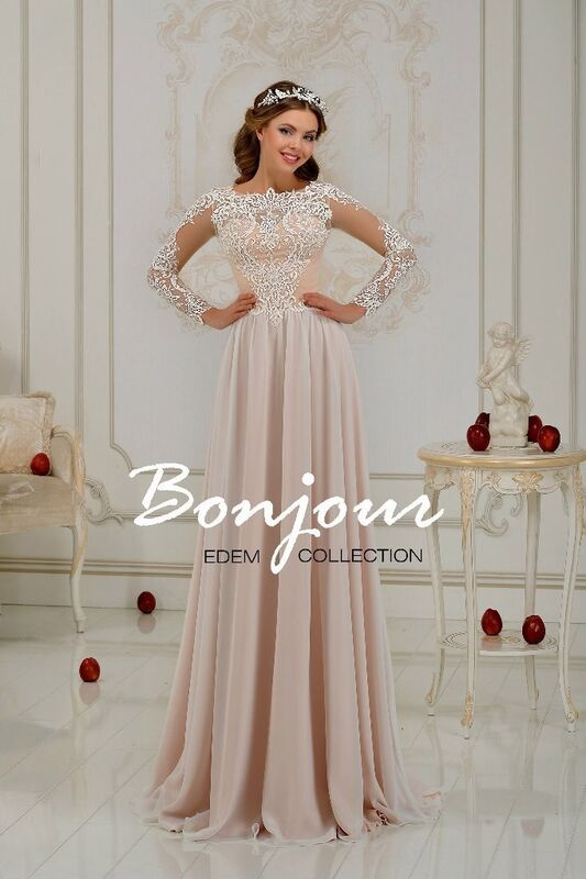 Свадебный салон Bonjour Свадебное платье «Nurit» из коллекции EDEM 2016 - фото 1