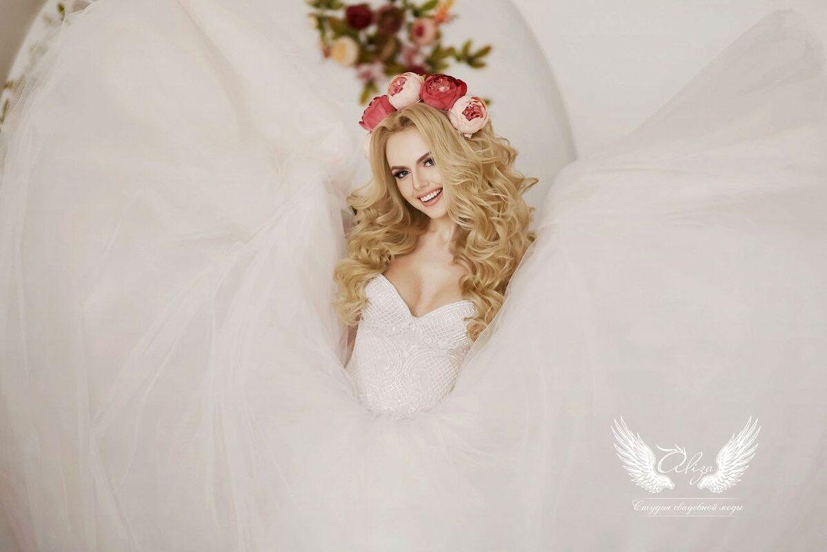 Свадебный салон ALIZA Платье свадебное «Sonata» Soffito - фото 3
