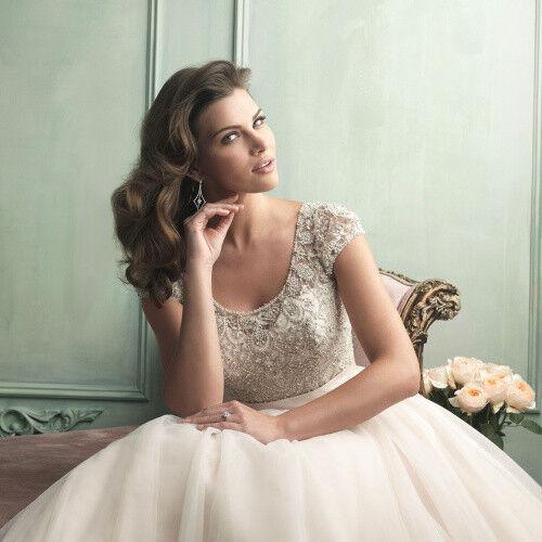 Свадебное платье напрокат Allure Bridals Платье свадебное 9100 - фото 3