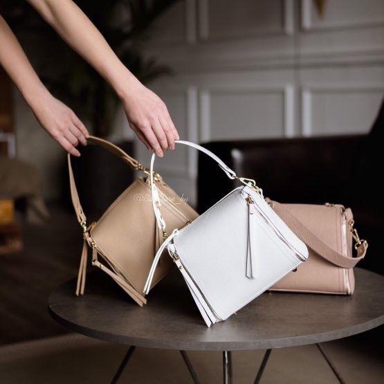 Магазин сумок Vezze Кожаная женская сумка C00476 - фото 1