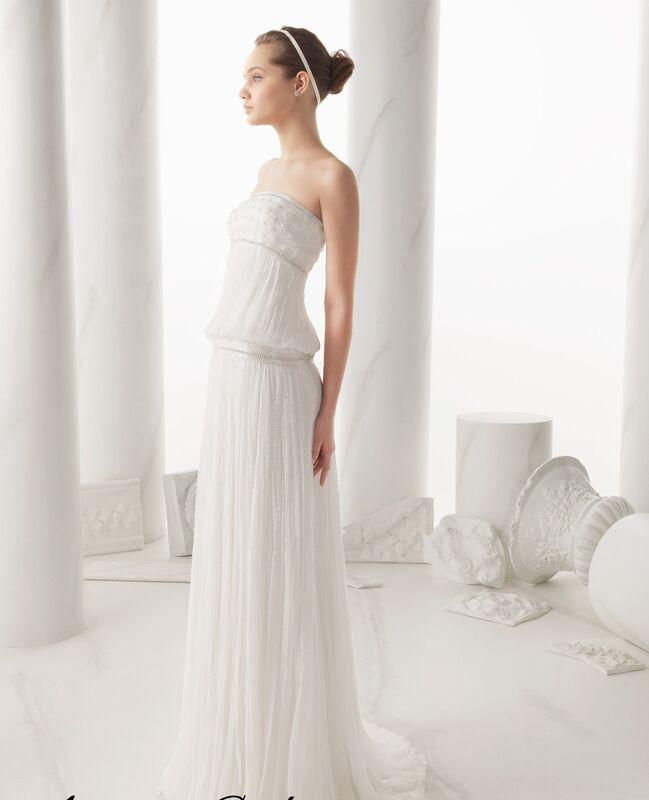 Свадебное платье напрокат Rosa Clara Платье свадебное Narela - фото 1