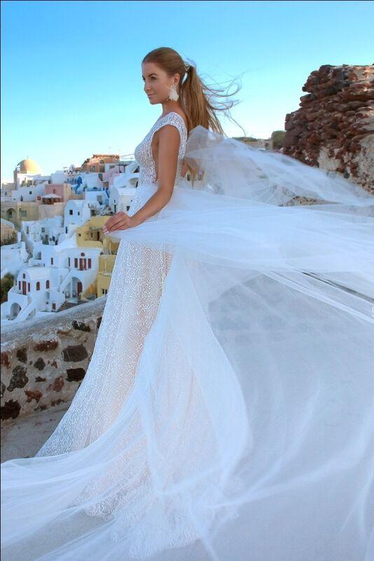 Свадебное платье напрокат Rafineza Свадебное платье Estel напрокат - фото 3