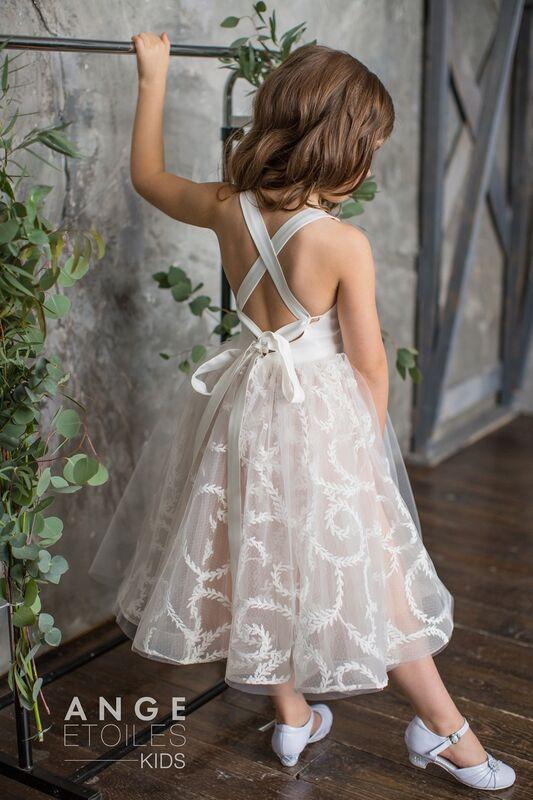 Вечернее платье Ange Etoiles Детское платье Kids Anitta - фото 2
