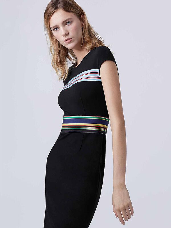 Платье женское Diane von Furstenberg Платье женское в полоску - фото 1