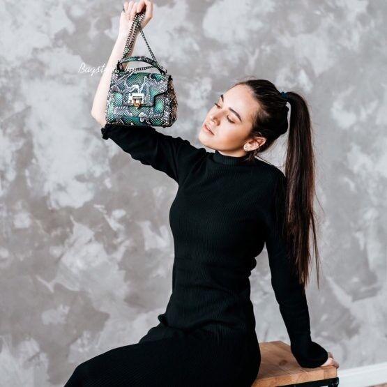 Магазин сумок Vezze Кожаная женская сумка C00470 - фото 1