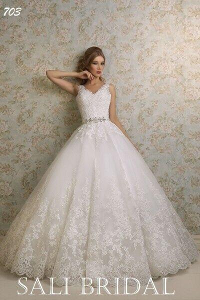 Свадебный салон Sali Bridal Свадебное платье 703 - фото 1